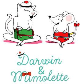 Héros Manon : Darwin et mimolette