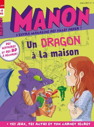 Un dragon à la maison dans Manon magazine !