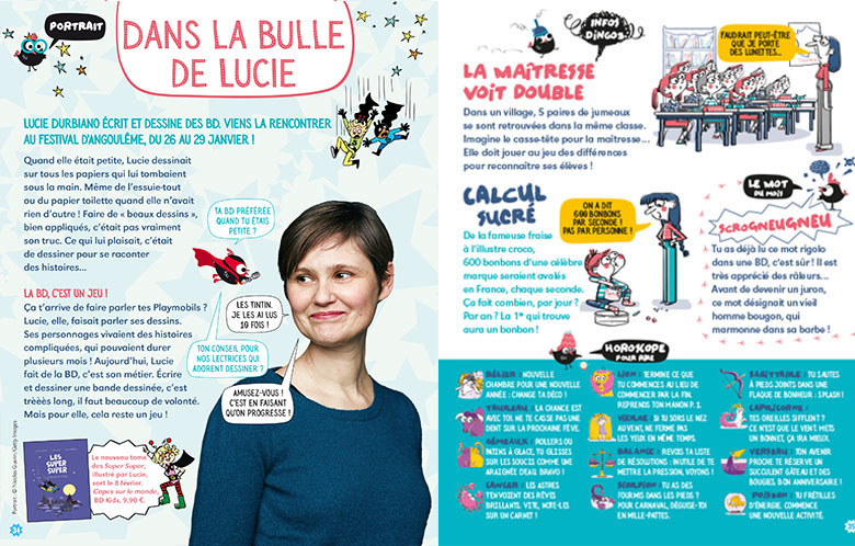 La gazette des poulettes - Manon Magazine