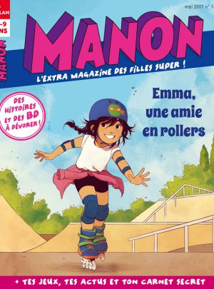 Emma, une amie en rollers - Manon magazine
