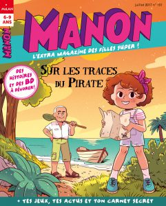 Couverture Manon magazine : sur les traces du Pirate