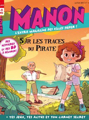 Couverture Manon magazine : sur les traces du Pirate