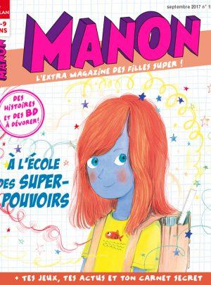 À l'école des super-pouvoirs - Manon magazine