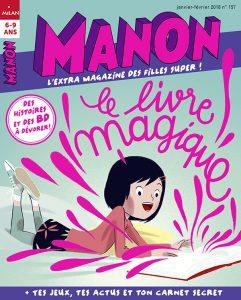 Le livre magique avec Manon !!