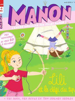 Manon Magazine : Lili et le défi du tipi