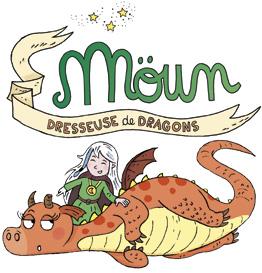 Moun, dresseuse de dragons - BD dans le magazine Manon