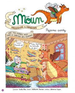 BD Moun, dresseuse de dragons