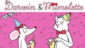 dessin animé darwin mimolette la nouvelle année