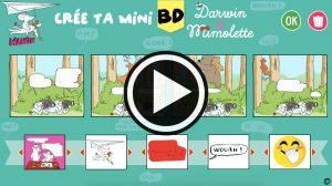 Crée ta BD Darwin et Mimolette - Manon magazine