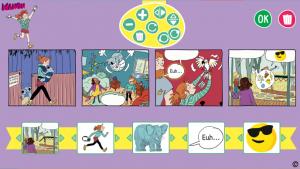 Crée ta BD le zoo de Zazie - Manon magazine